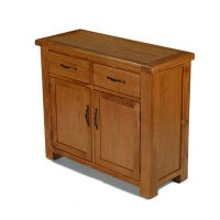 Windsor Oak 2 Drawer 2 Door Sideboard