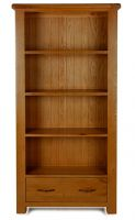 Thumbnail Windsor Oak Large Bookcase with Drawer