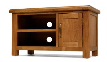 Windsor Oak 1 Door TV Cabinet