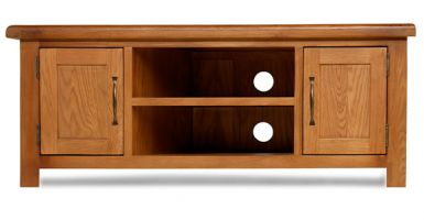 Thumbnail Windsor Oak Large TV Cabinet