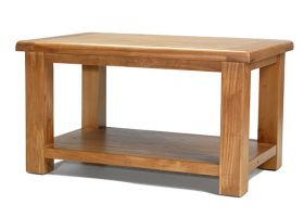 Windsor Oak Coffee Table with Shelf