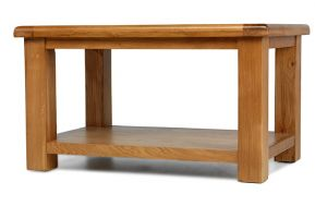 Thumbnail Windsor Oak Coffee Table with Shelf
