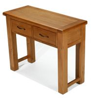 Windsor Oak Console Table with Drawers