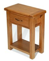Windsor Oak 1 Drawer Hall Table