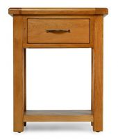 Thumbnail Windsor Oak 1 Drawer Hall Table