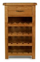 Thumbnail Windsor Oak Wine Rack with Drawer