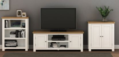 Thumbnail Northport White Large TV Cabinet