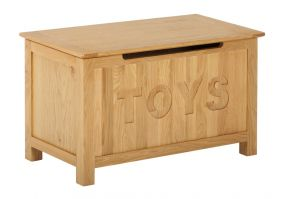 York Oak Toy Box