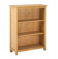Thumbnail York Oak Low Bookcase