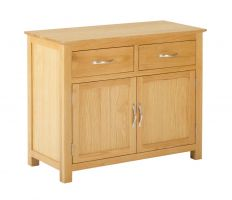 York Oak 2 Door 2 Drawer Sideboard