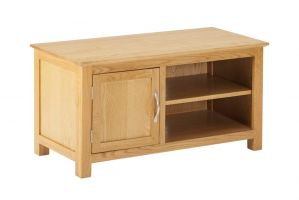 York Oak TV Cabinet