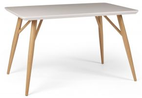 Contempo White Gloss 1.2 m Dining Table