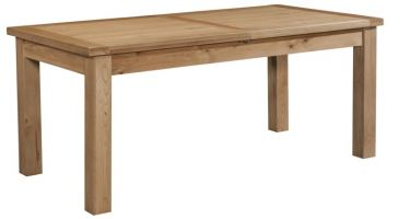 Dorset Oak Large Extending Table  2 leaves