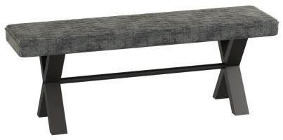 Warehouse 1.4 m Upholstered Bench