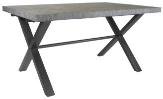 Warehouse Stone Effect 1.5 m Dining Table