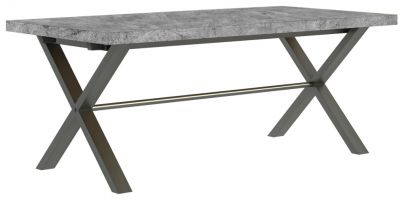 Warehouse Stone Effect 1.9 m Dining Table
