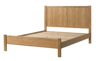 Burford Oak King Size Bed