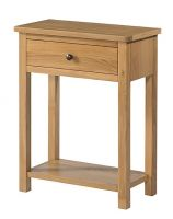 Burford Oak 1 Drawer Console Table