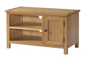 Burford Oak Small TV Cabinet