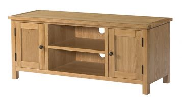 Burford Oak Large TV Cabinet