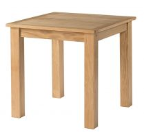Burford Oak 80 x 80 Table