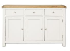 Cornwall Painted 3 Door 3 Drawer Sideboard