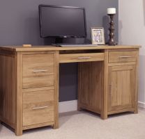 Opus Oak Large Computer Desk