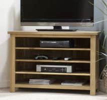 Opus Oak Corner TV Cabinet