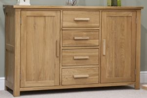 Opus Oak Large Sideboard