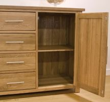 Thumbnail Opus Oak Large Glazed Dresser