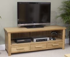Opus Oak Plasma TV Cabinet