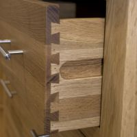 Thumbnail Opus Oak 3 Drawer Bedside