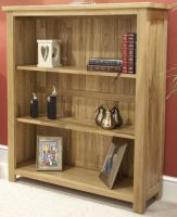 Opus Oak Small Bookcase