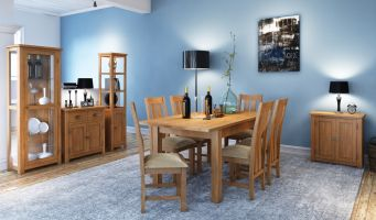 Thumbnail Northport Oak Extending Table