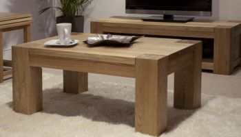 Mode Oak 4  x 2  Coffee Table