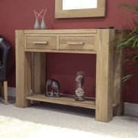 Mode Oak Console Table