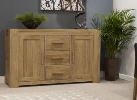Mode Oak Large Sideboard