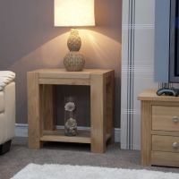Mode Oak Lamp Table