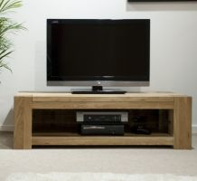 Mode Oak Widescreen TV Cabinet