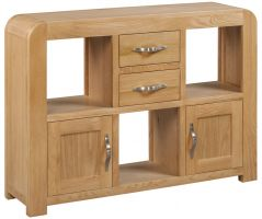 Devonshire Verona Oak Low Display Unit