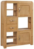 Devonshire Verona Oak High Display Unit