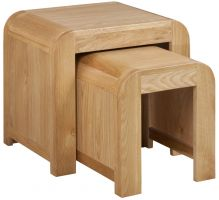 Devonshire Verona Oak Nest of Tables