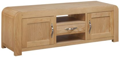 Devonshire Verona Oak Wide Screen TV Cabinet