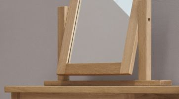 Opus Oak Vanity Mirror
