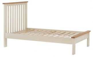 Portland Cream Single Bed