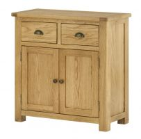Northport Oak 2 Door 2 Drawer Sideboard