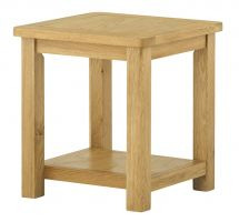 Northport Oak Lamp Table