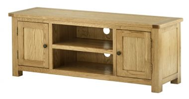Northport Oak Large TV Cabinet